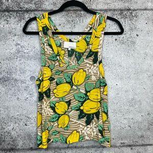 3.1 Phillip Lim | Lemon Print Cropped Tank